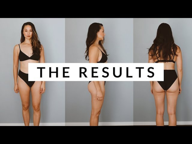 8 Week Fitness Challenge Results | Vlogday Day 2 | Aja ...